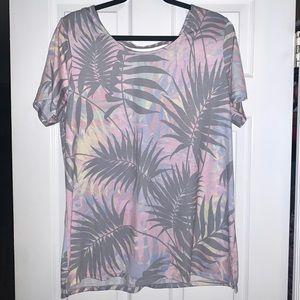 Palm Printed Tshirt